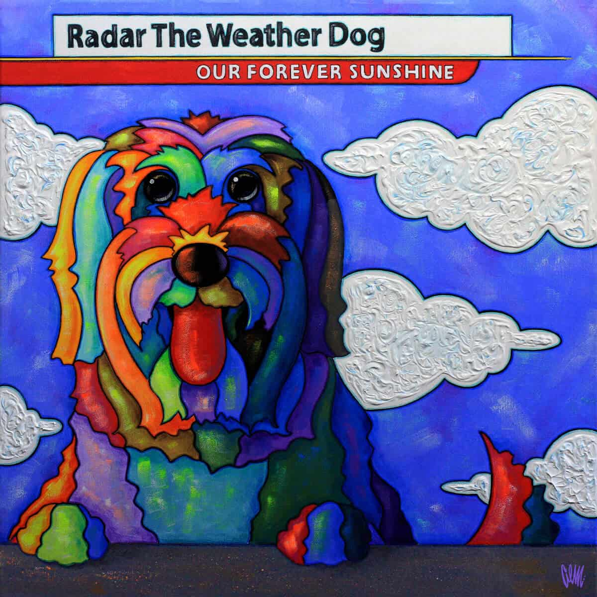 radar weather dog