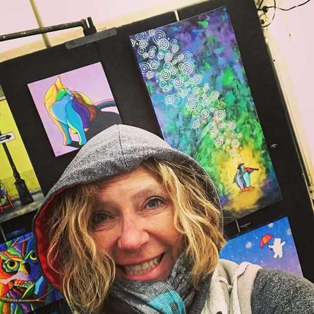 april murphy art show