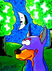 Dog/Cat Moon Risin'