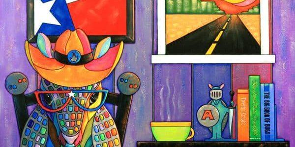 armadillo painting